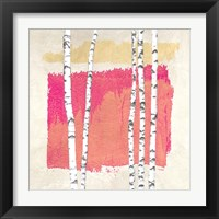 Framed Abstract Nature I