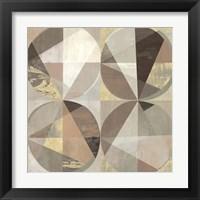 Framed Terracotta & Gold