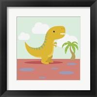Framed Li'l T-rex
