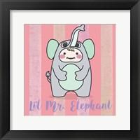 Framed Li'l Elephant