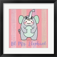 Framed Li'l Elephant