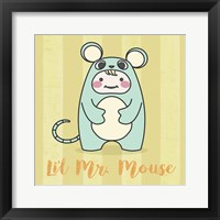 Framed Li'l Mouse