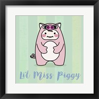 Framed Li'l Piggy