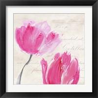 Framed Classic Tulips II
