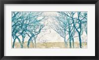 Framed Turquoise Trees
