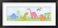 Framed Li'l Dinos