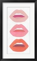 Framed Red Lips II