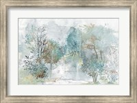 Framed Mysterious Forest