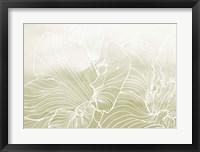 Framed Golden Florals