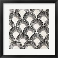 Framed White Art Deco III