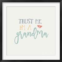 Framed Grandma Inspiration I Color