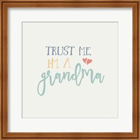 Framed Grandma Inspiration I Color