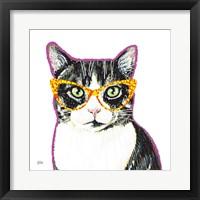 Framed Bespectacled Pet III