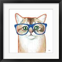 Framed Bespectacled Pet II