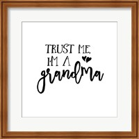 Framed Grandma Inspiration I
