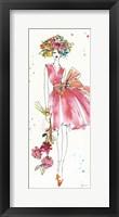 Framed Floral Figures V