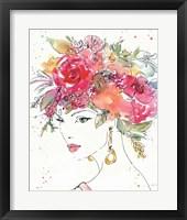 Floral Figures II Framed Print