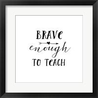 Framed Teacher Inspiration II