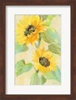 Framed Sunny Blooms