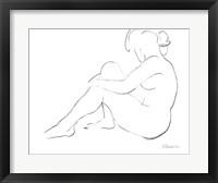Framed Nude Sketch IV