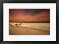 Framed Marthas Vineyard Beach III