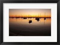 Framed Marthas Vineyard Sunset II