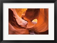 Framed Lower Antelope Canyon X