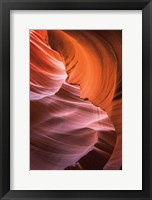 Framed Lower Antelope Canyon VIII