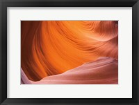 Framed Lower Antelope Canyon VI