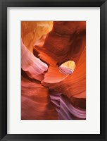 Framed Lower Antelope Canyon IV