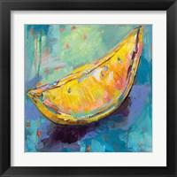 Framed Lemon Wedge