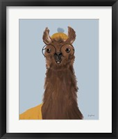 Framed Delightful Alpacas III