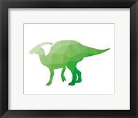 Framed Geo Dinosaur IV