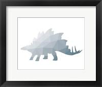 Framed Geo Dinosaur II