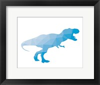Framed Geo Dinosaur I