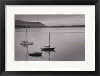Framed Bellingham Bay BW