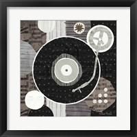 Framed Rock N Roll Album Neutral