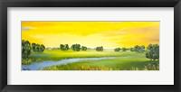 Framed Landscape with River