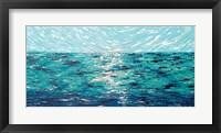 Framed Precious Sea