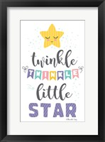 Framed Twinkle Little Star