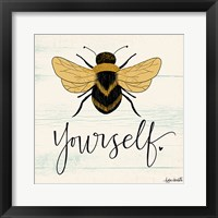 Framed Bee Yourself