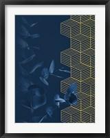 Framed Blue II