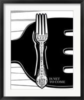 Framed Keep Your Fork
