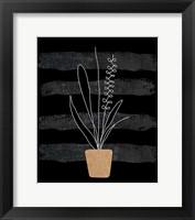 Framed Scandi Plant II