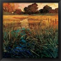 Framed Golden Creek