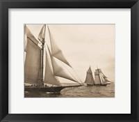 Framed Maiden Voyage I