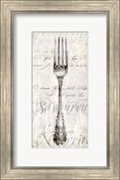 Framed Decorative Fork