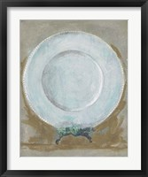 Framed Dinner Plate II