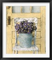 Framed Cottage Bouquet II