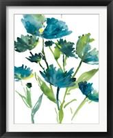 Framed Blueberry Blooms  I